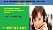 Contact QuickBooks Payroll Customer Service Support Number
